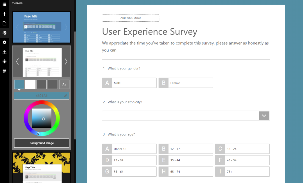 Customize-Themes-In-The-Survey-Maker