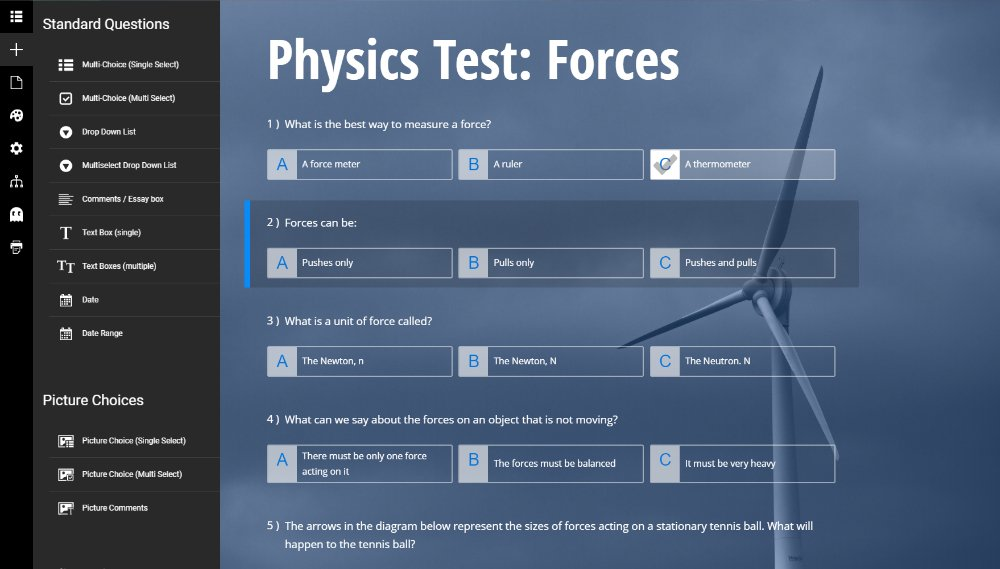 Create Online Quizzes for Distance Learning